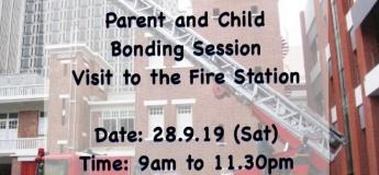 Parent & Child Bonding Session (Visit to a Fire Station)